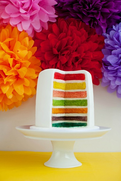 Rainbow Wedding Cakes  What Wedding Cake Flavour Would Suit Your Big Day