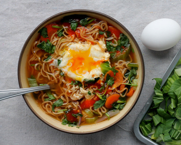 Raman Noodles Healthy  Meatless Monday Healthier Instant Noodles Meatless Monday