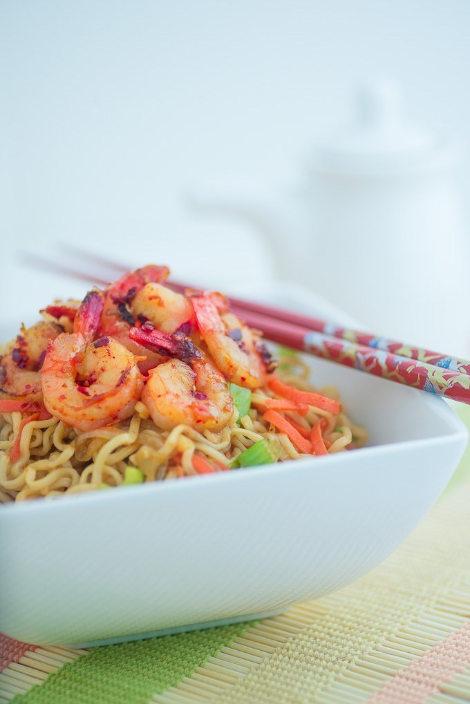 Raman Noodles Healthy  Healthy Ramen Noodles with Shrimp Fun Love and Cooking