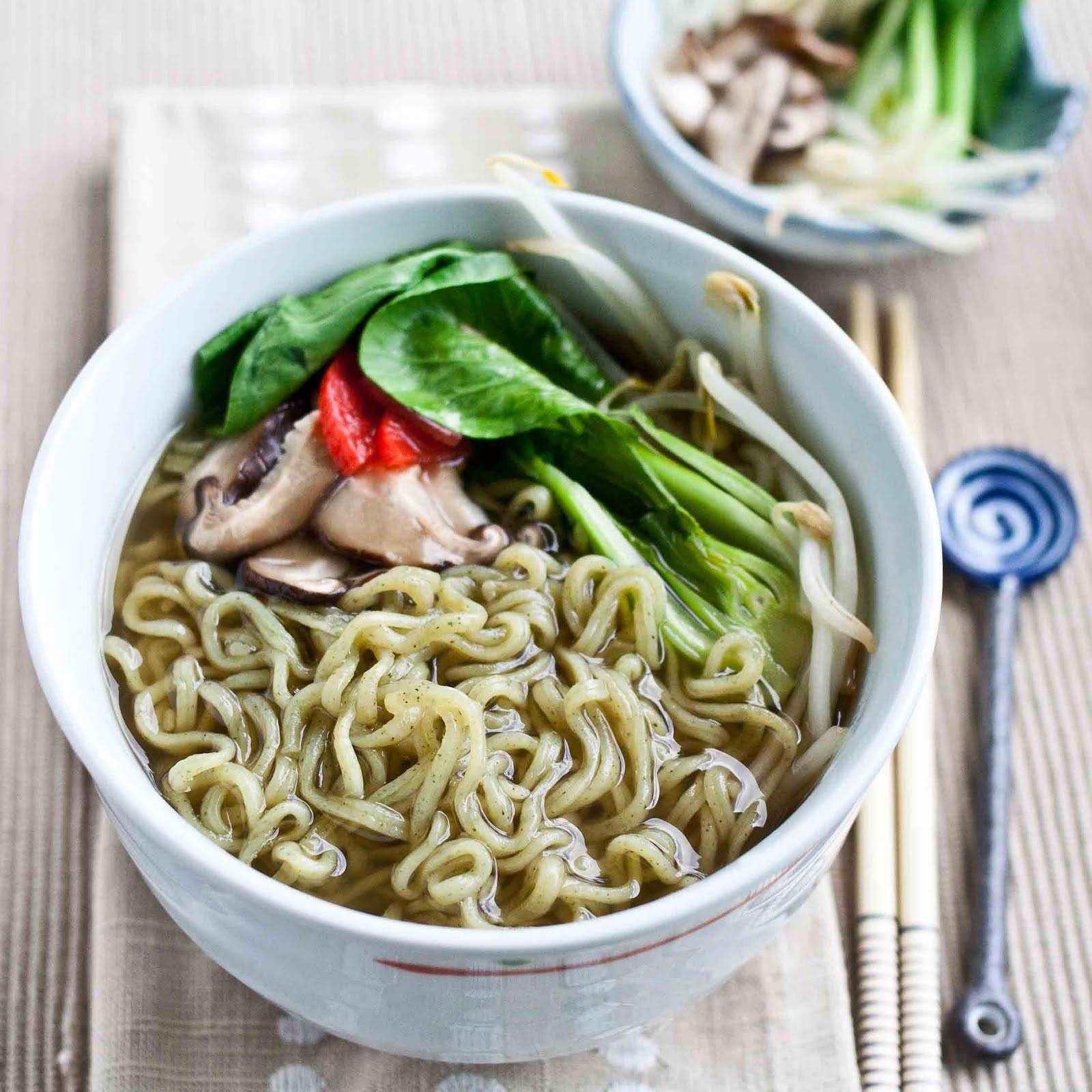 Raman Noodles Healthy  FOODjimoto GreeNoodle Healthier Instant Ramen