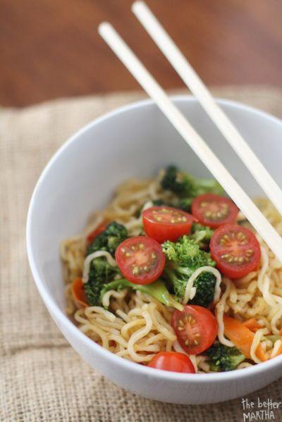 Ramen Noodles Healthy  Good Eats 7 No Cook Dorm Friendly Meals