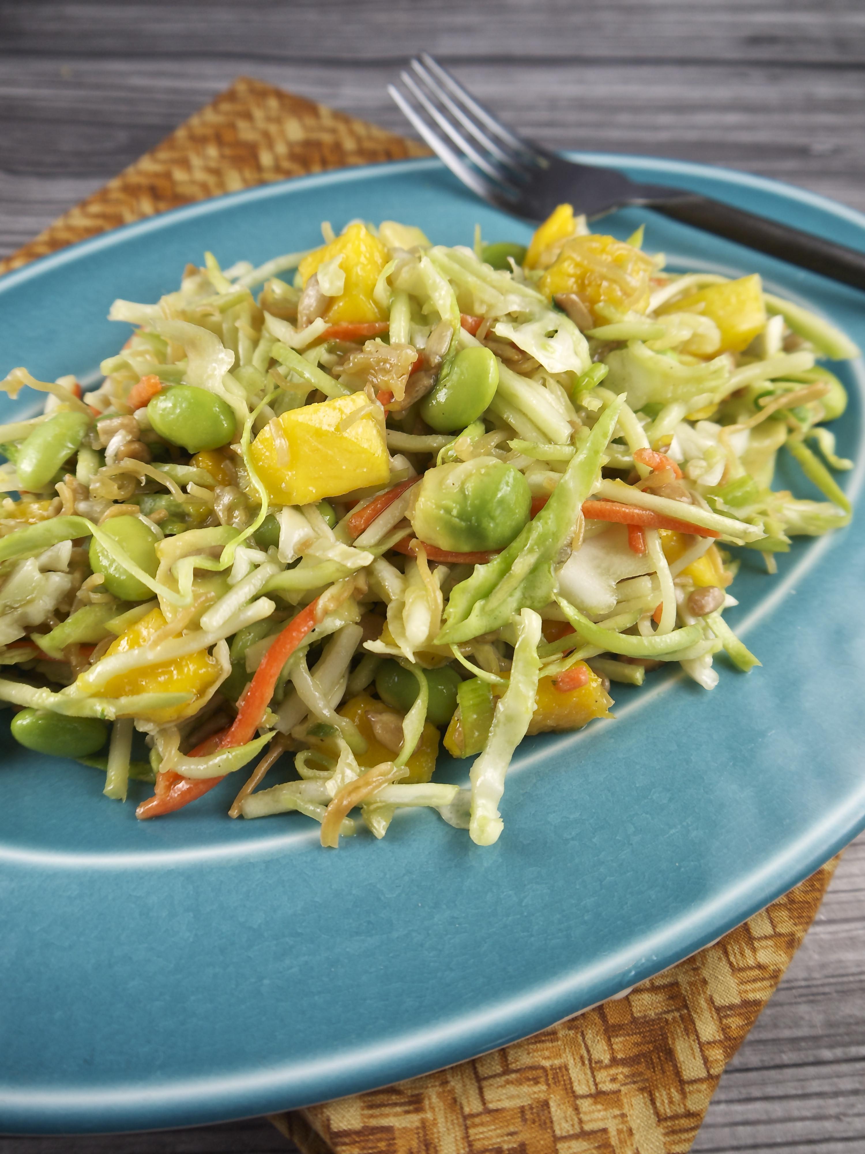 Ramen Noodles Healthy  Healthy Ramen Noodle Salad