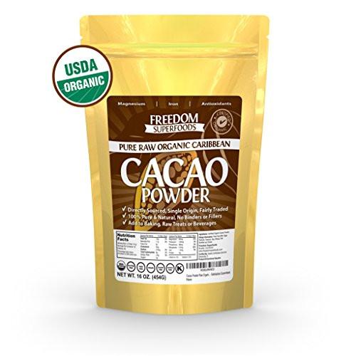 Raw Organic Cocoa Powder  Coffee Tea & Beverages Organic Raw Cacao Powder Best