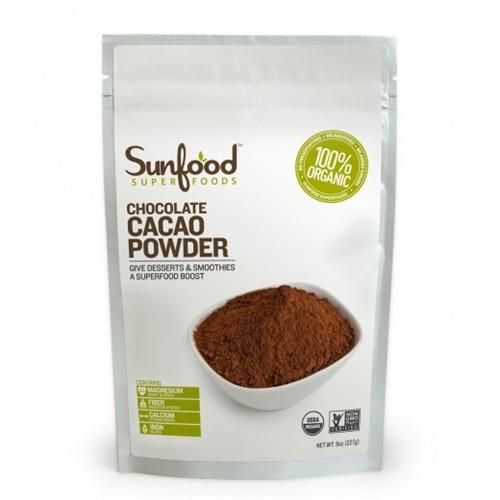 Raw Organic Cocoa Powder  Raw Organic Cacao Powder 8 oz 227 g