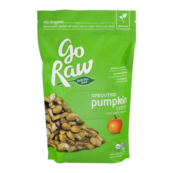 Raw Organic Pumpkin Seeds  Go Raw Sprouted Pumpkin Seeds 16 oz from Costco Instacart