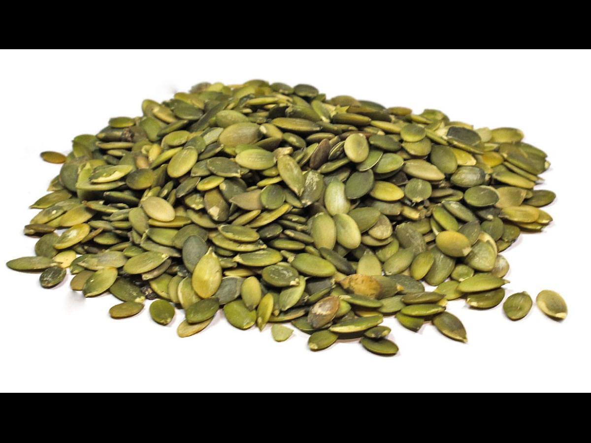 Raw Organic Pumpkin Seeds  Raw Pumpkin Seeds Nutrition Information Eat This Much