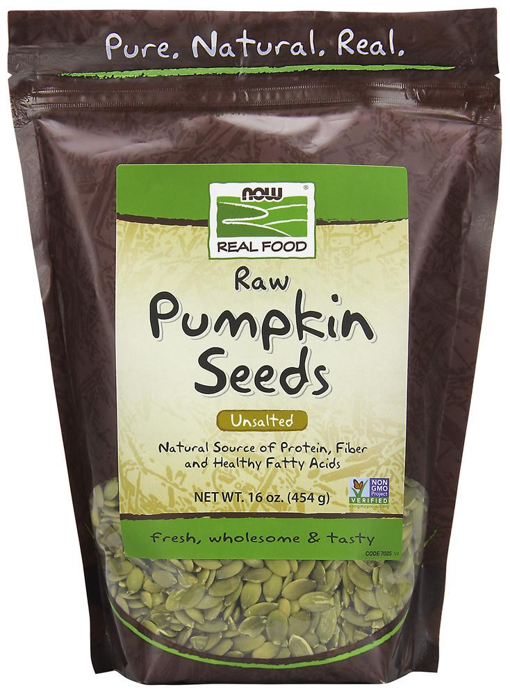 Raw Organic Pumpkin Seeds  Pumpkin Seeds Raw Now Foods 1 lb Seed