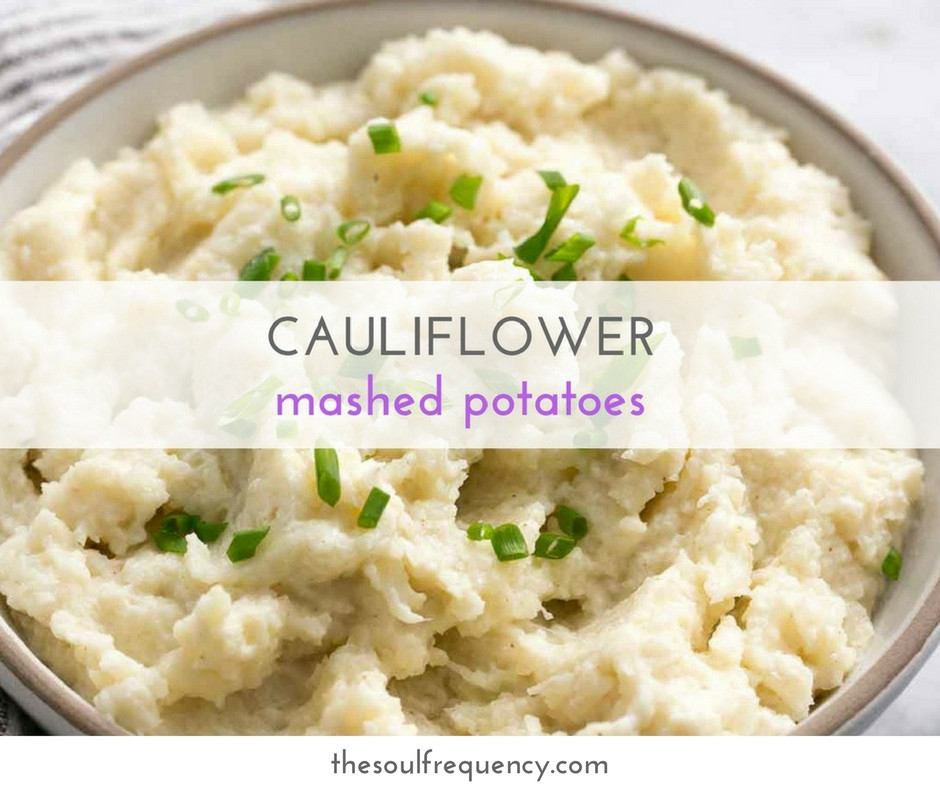 Recipe For Cauliflower Mashed Potatoes Healthy  side dish Archives