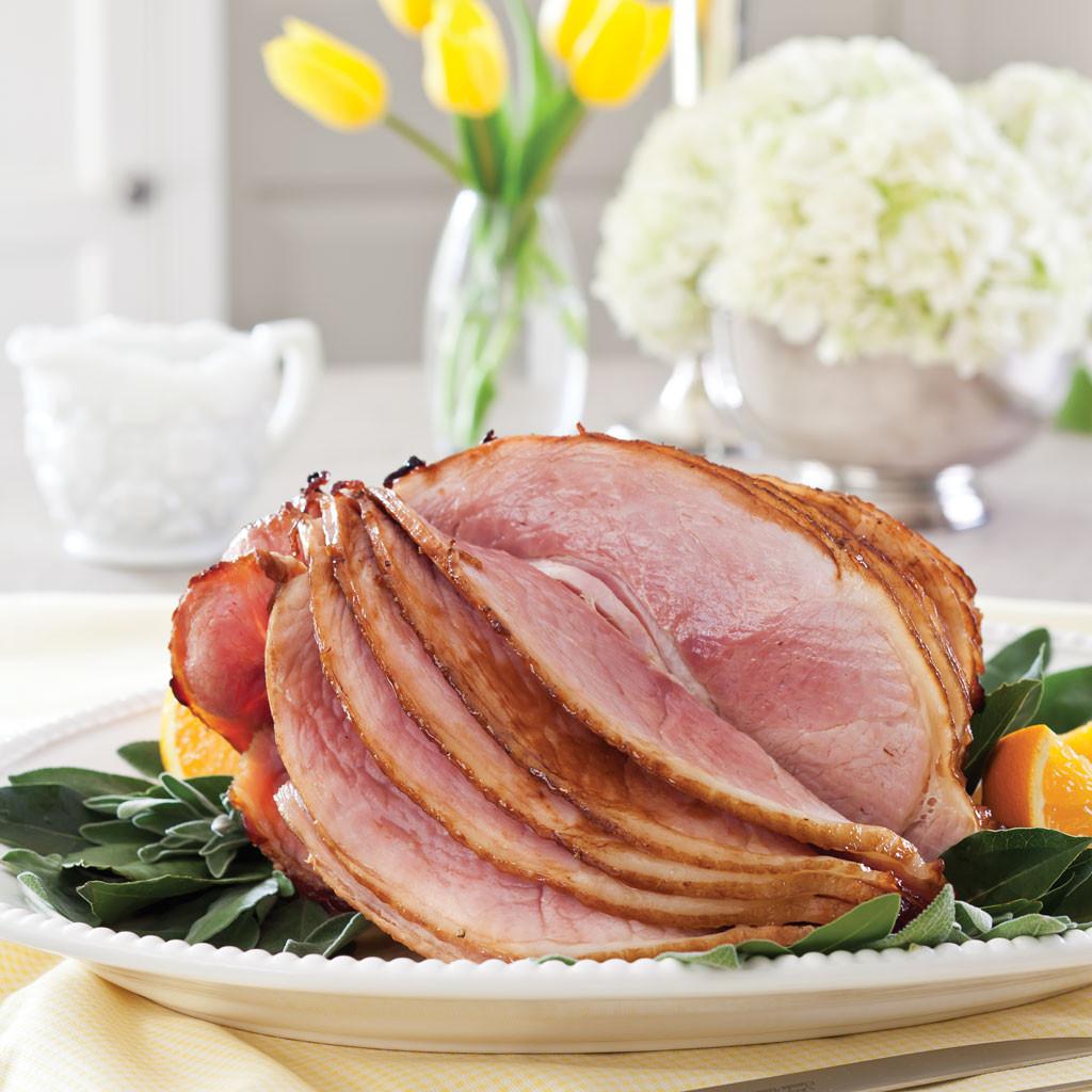 Recipe For Easter Ham  Orange Maple Glazed Ham Recipe Celebrate Magazine