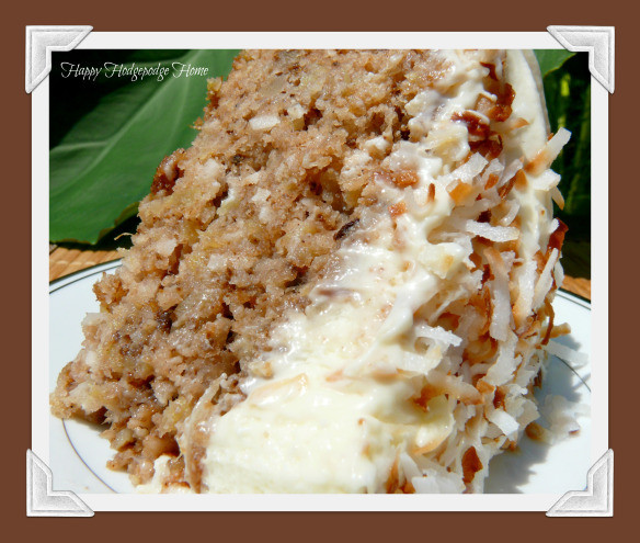 Recipe For Hawaiian Wedding Cake  Hawaiian Wedding Cake with Whipped Cream Cream Cheese