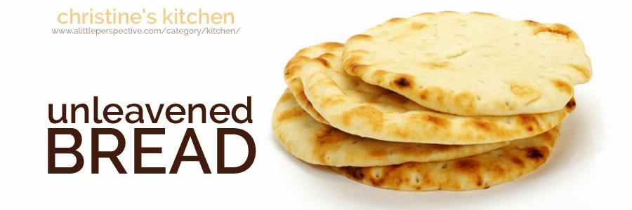 Recipe For Unleavened Bread For Passover  unleavened bread