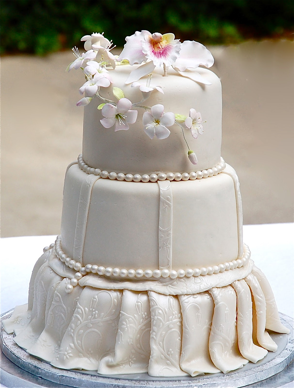 Recipe For Wedding Cakes  Amazing Dessert Recipes Wedding Cake with a Textured