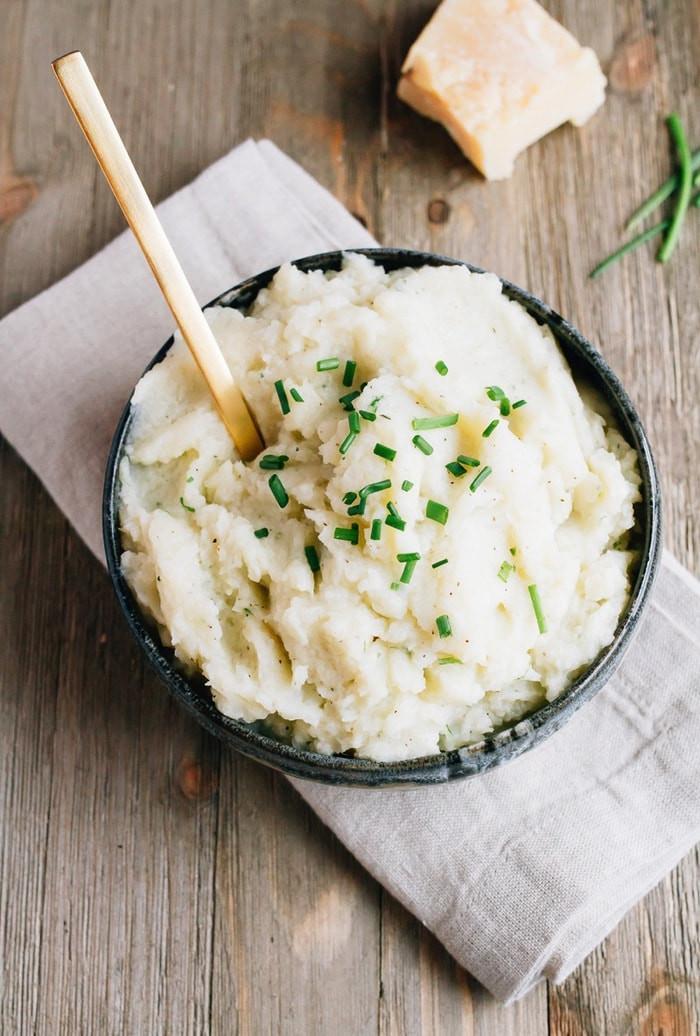 Recipes For Cauliflower Mashed Potatoes Healthy  healthy cauliflower mashed potatoes recipe