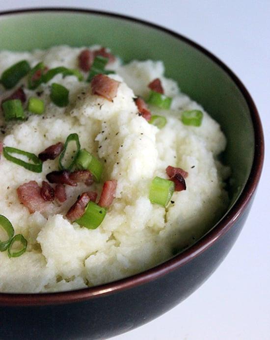 Recipes For Cauliflower Mashed Potatoes Healthy  Creamy Mashed Cauliflower