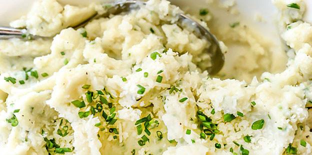 Recipes For Cauliflower Mashed Potatoes Healthy  Weight Watchers Cauliflower Mashed Potatoes Recipe Tasty