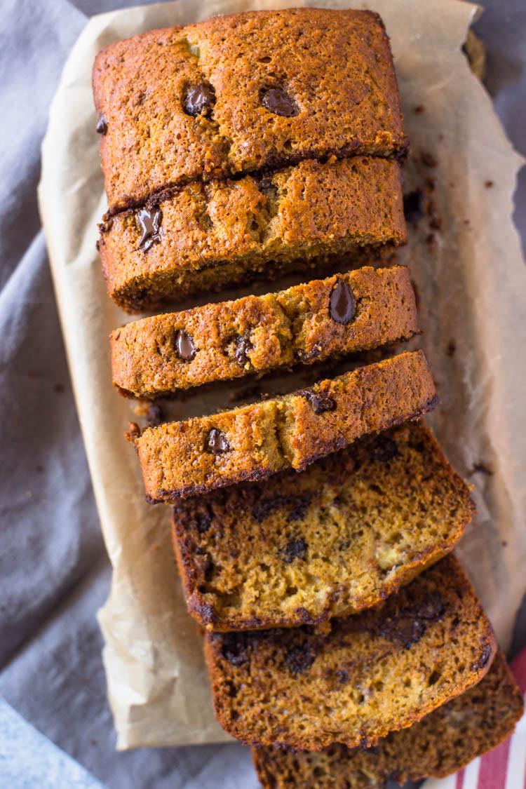 Recipes For Healthy Banana Bread  Healthy Moist Banana Bread