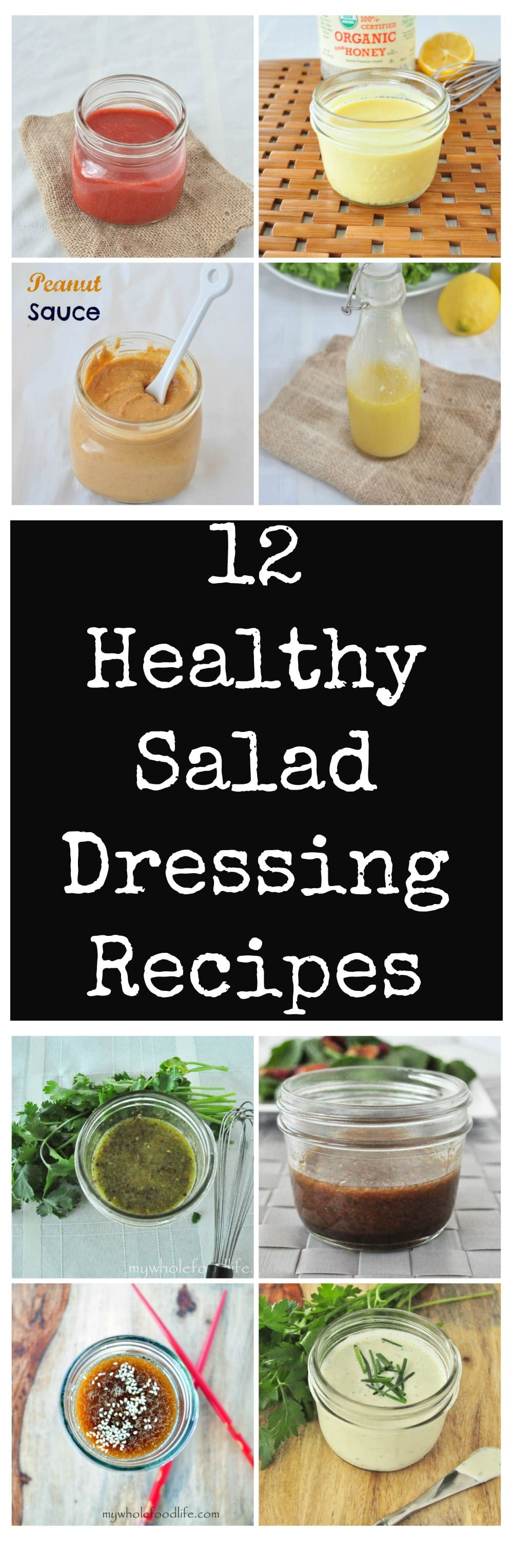 Recipes For Healthy Salad Dressings  12 Healthy Salad Dressing Recipes My Whole Food Life