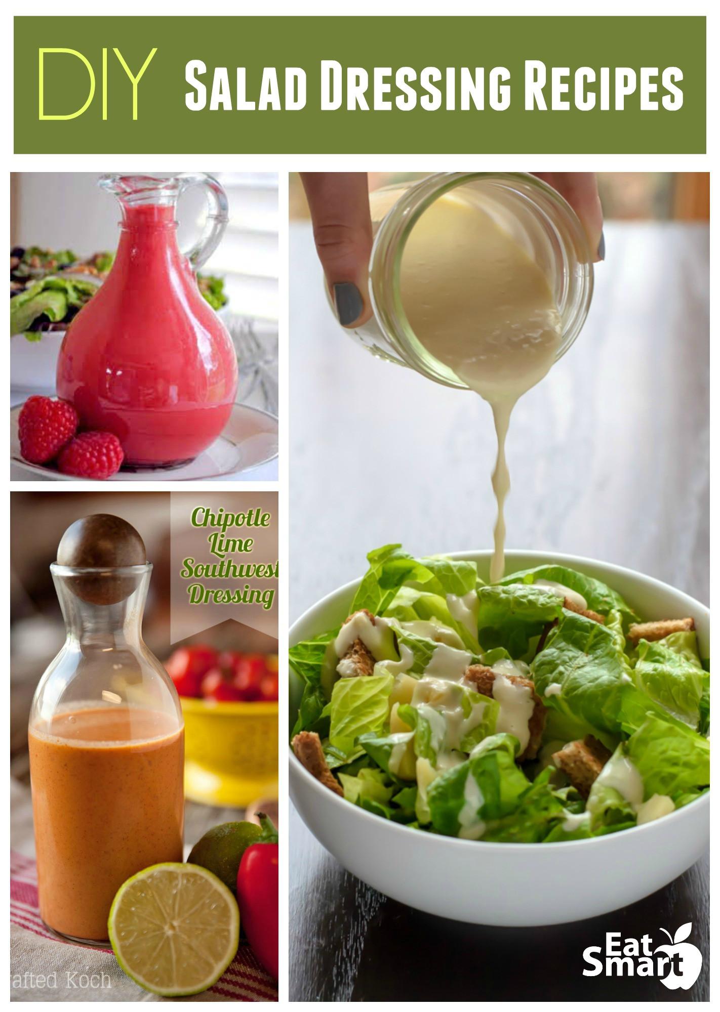 Recipes For Healthy Salad Dressings  DIY Salad Dressing Recipe Roundup – The EatSmart Blog