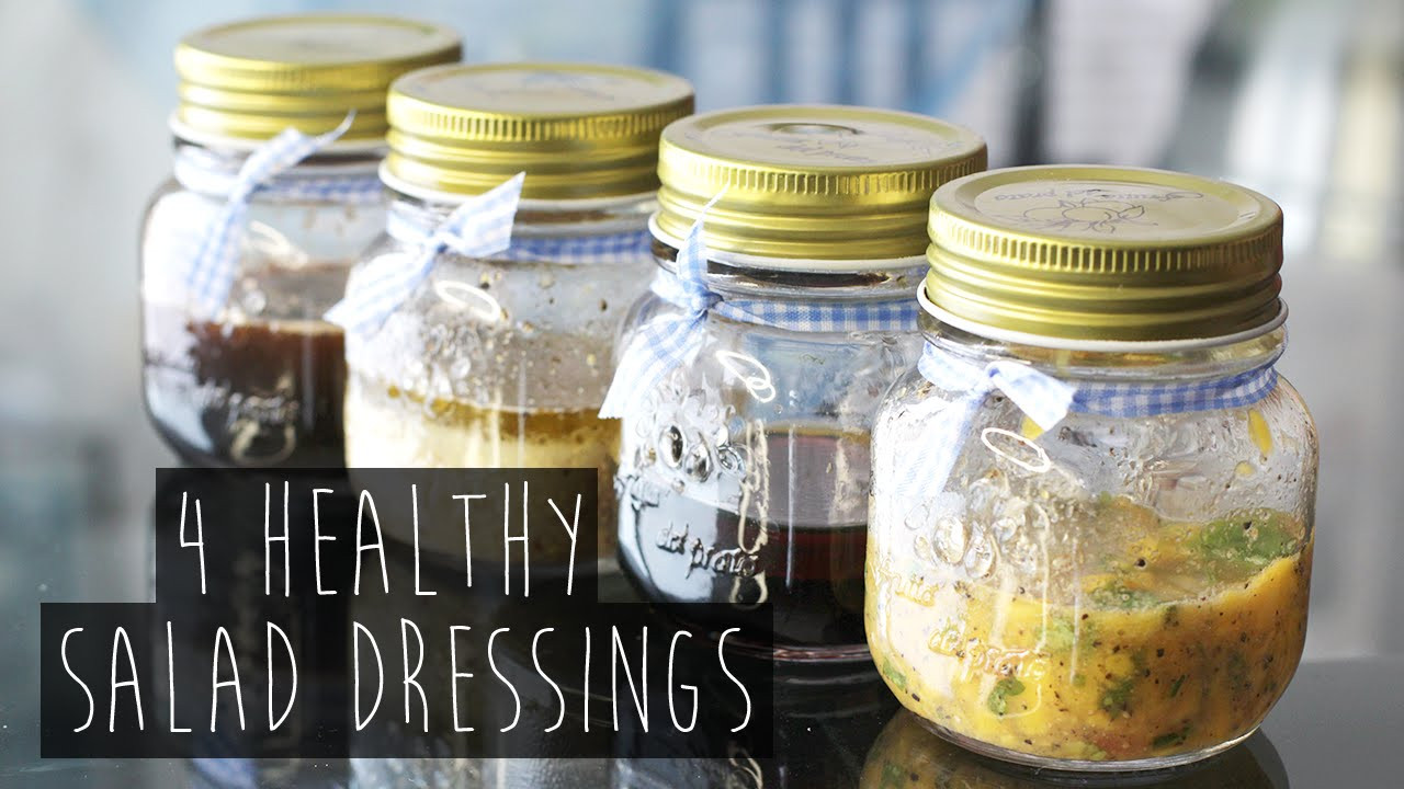 Recipes For Healthy Salad Dressings  How to 4 Quick and Healthy Salad Dressing Recipes