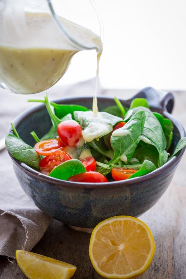 Recipes For Healthy Salad Dressings  lemon juice salad dressing Healthy Seasonal Recipes
