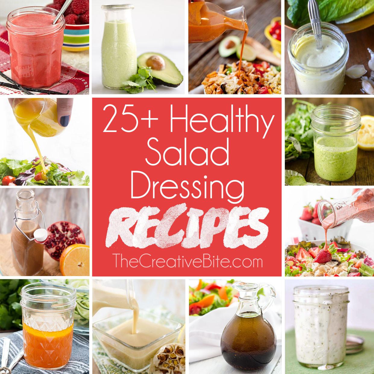 Recipes For Healthy Salad Dressings  Healthy Salad Dressing Recipes