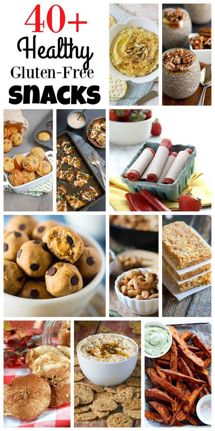 Recipes For Healthy Snacks  40 Healthy Gluten Free Snack Recipes Cupcakes & Kale Chips