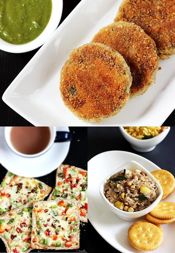 Recipes For Healthy Snacks  Indian snacks for Kids