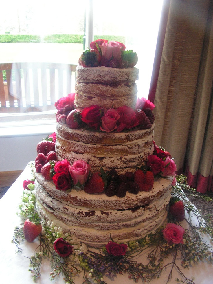 Recipes For Wedding Cakes  Victoria sponge wedding cake recipe idea in 2017