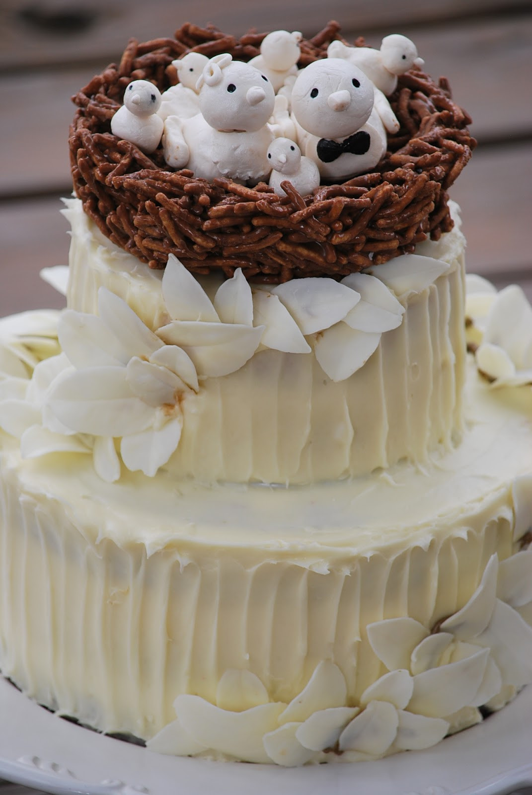 Recipes For Wedding Cakes  Traditional white wedding cake recipe idea in 2017