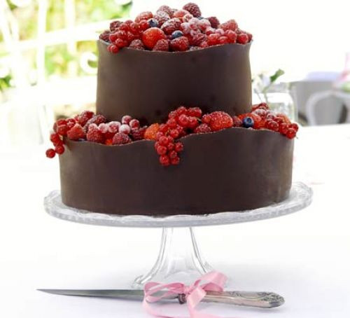 Recipes For Wedding Cakes  Orange berry wedding cake recipe