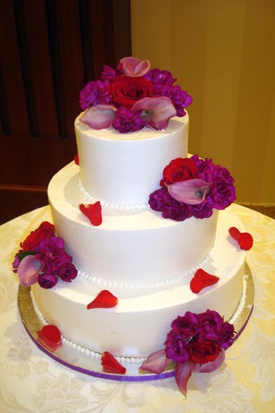 Red And Purple Wedding Cakes  I Need a Bigger Wardrobe Purple and Red Wedding