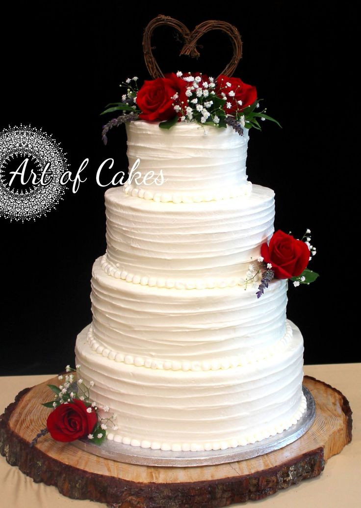 Red Rose Wedding Cakes  Best 25 Red rose wedding ideas on Pinterest