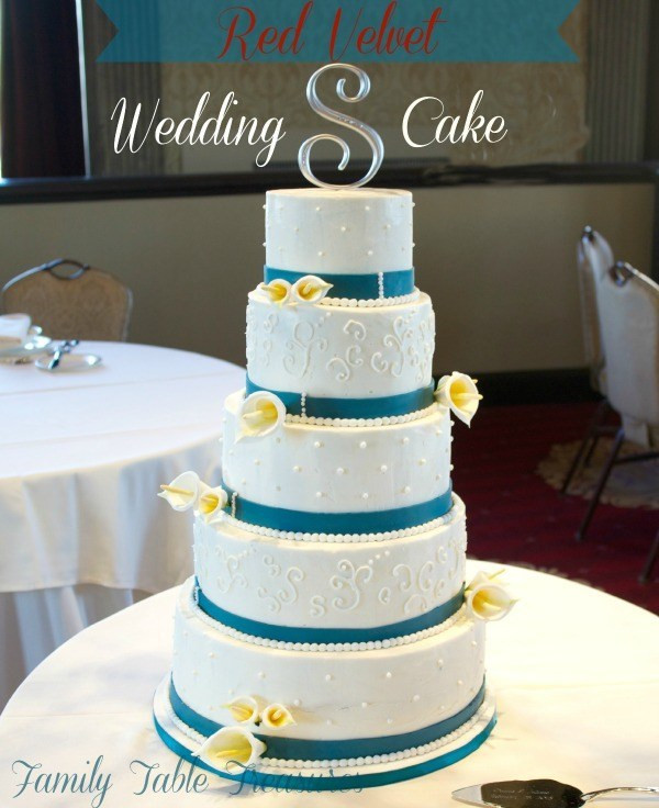Red Velvet Wedding Cake  Red Velvet Wedding Cake Family Table Treasures