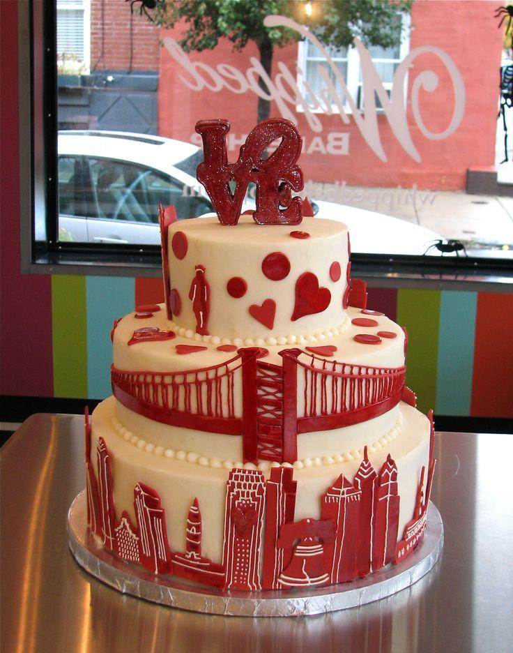 Red Velvet Wedding Cake  72 best Amazing Cakes in Red images on Pinterest