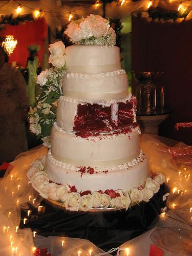 Red Velvet Wedding Cake  Red Velvet Wedding Cake Kimberly Vardeman