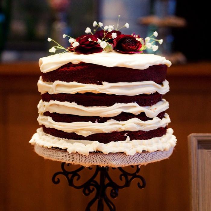 Red Velvet Wedding Cake  Classic Wedding Invitations Autumn Wedding Flowers Guide