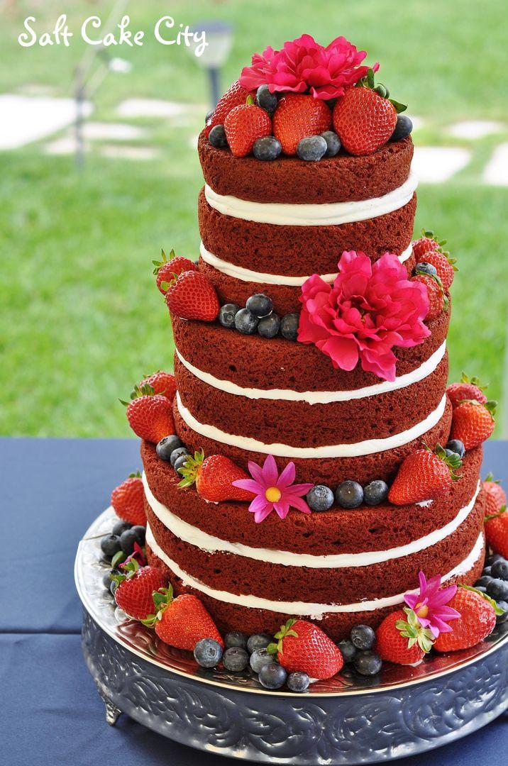 Red Velvet Wedding Cake  Salt Cake City red velvet