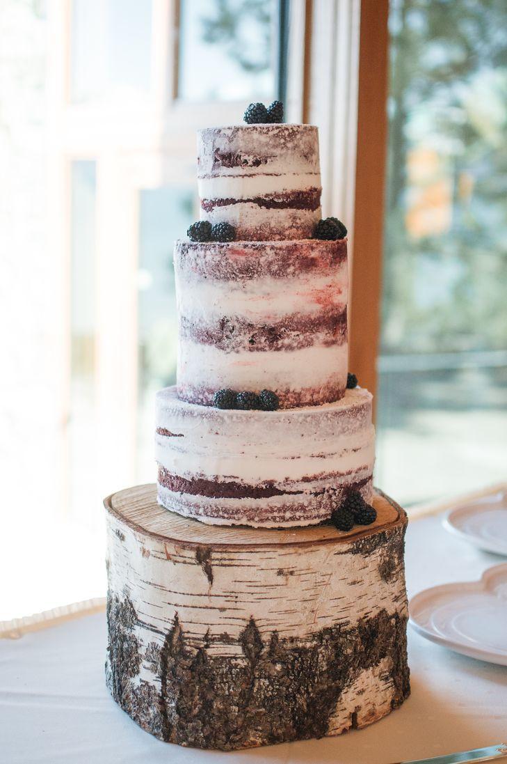Red Velvet Wedding Cake  DIY Red Velvet Naked Wedding Cake