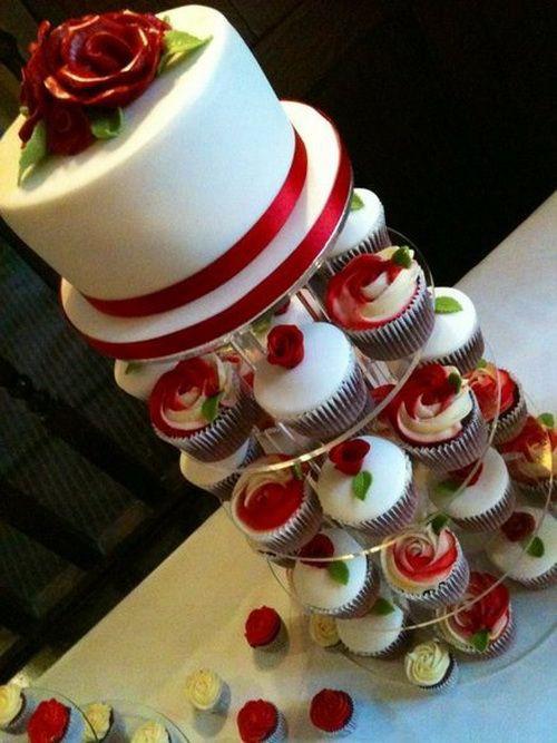 Red Velvet Wedding Cake  17 Best images about Red Velvet Wedding Cake Ideas on