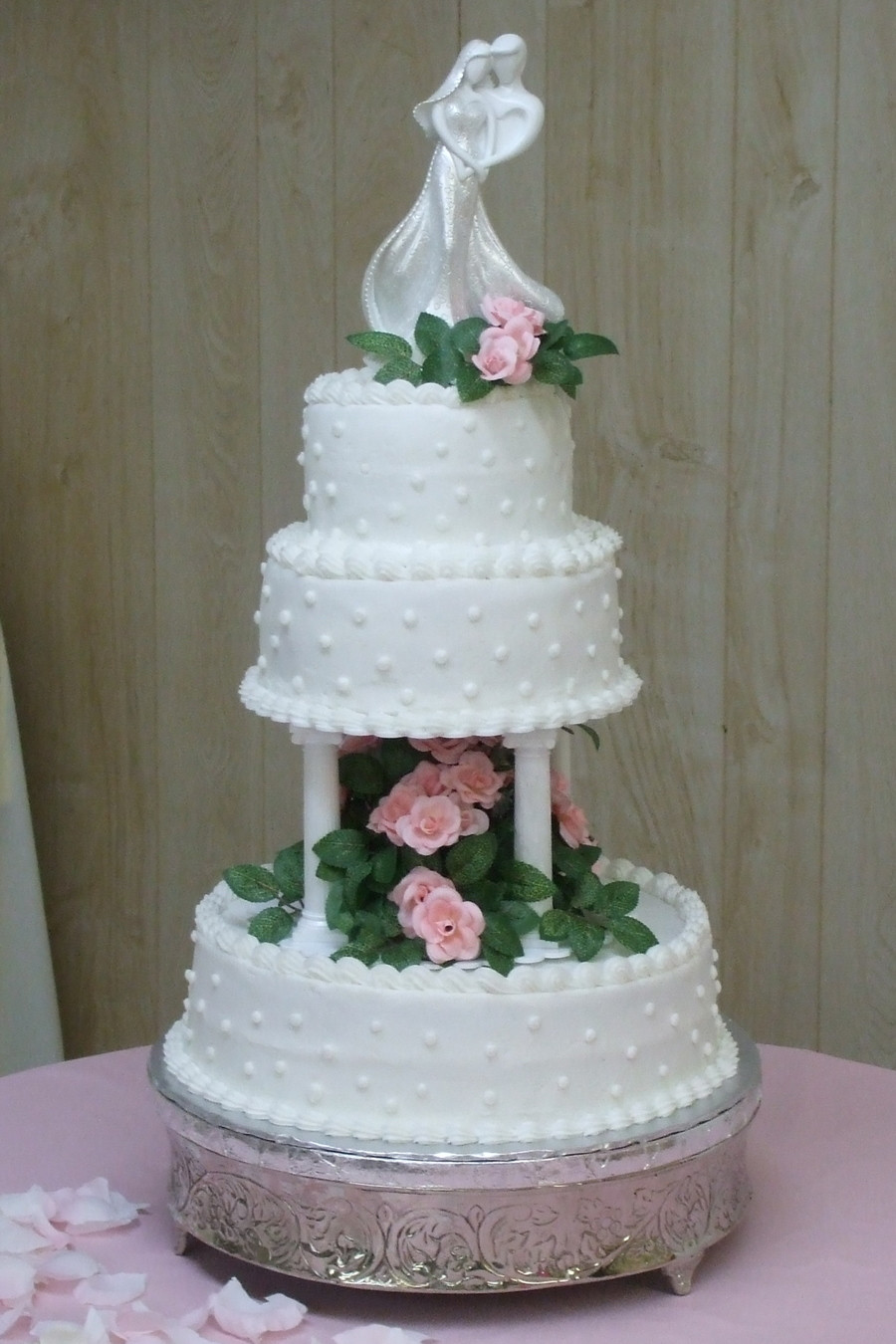Red Velvet Wedding Cake  Red Velvet Wedding Cake CakeCentral