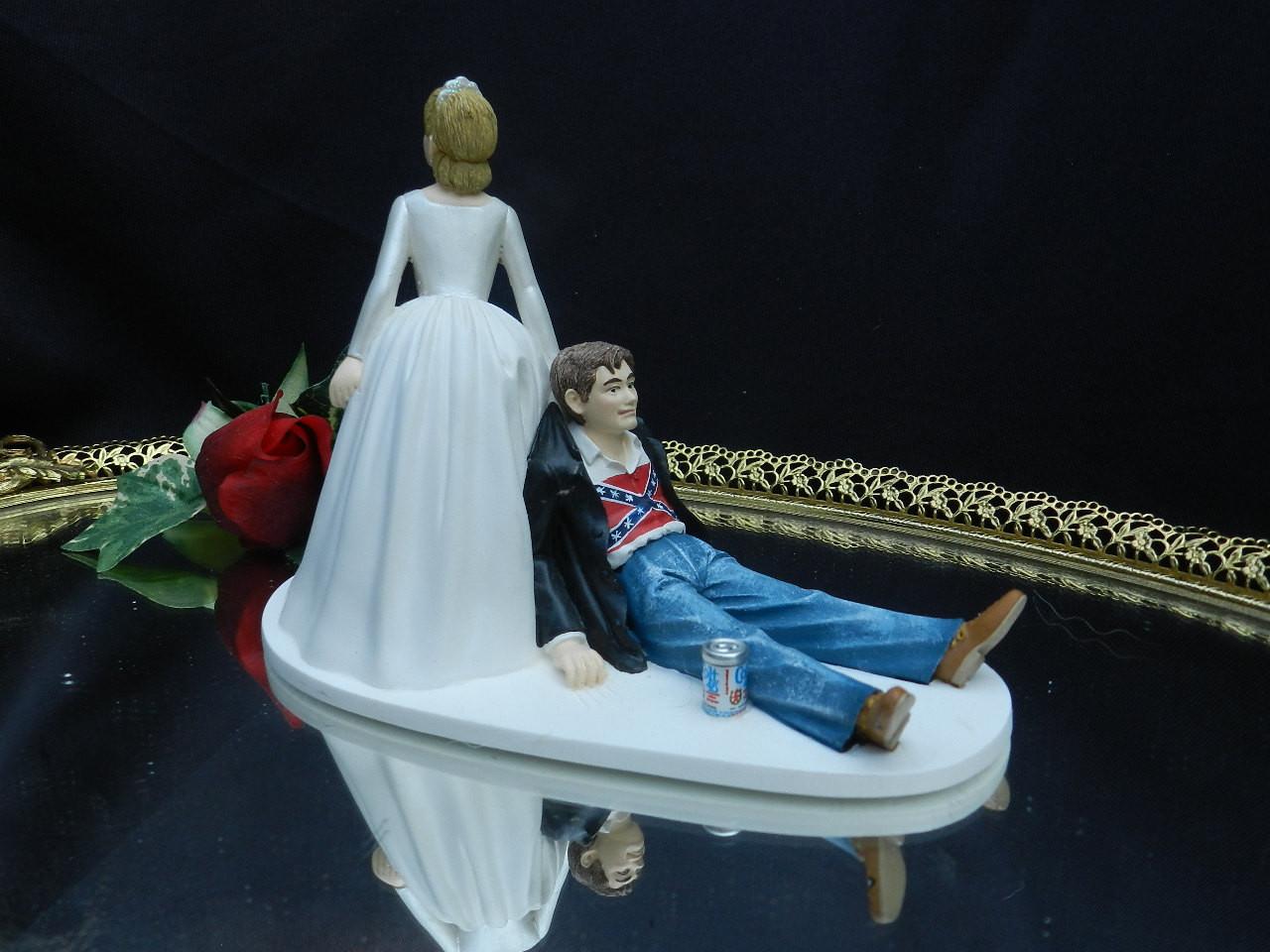 Redneck Wedding Cakes Toppers  wedding cake toppers Redneck Wedding Cake Toppers