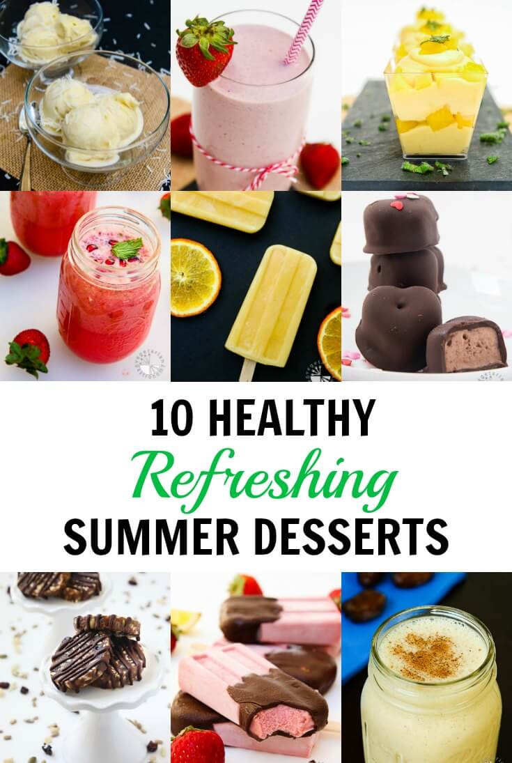 Refreshing Summer Desserts  10 Healthy Refreshing Summer Desserts Vegan Ve arian