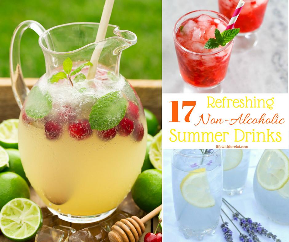 Refreshing Summer Vodka Drinks  17 Non Alcoholic Drink Recipes Refreshing Summer Life