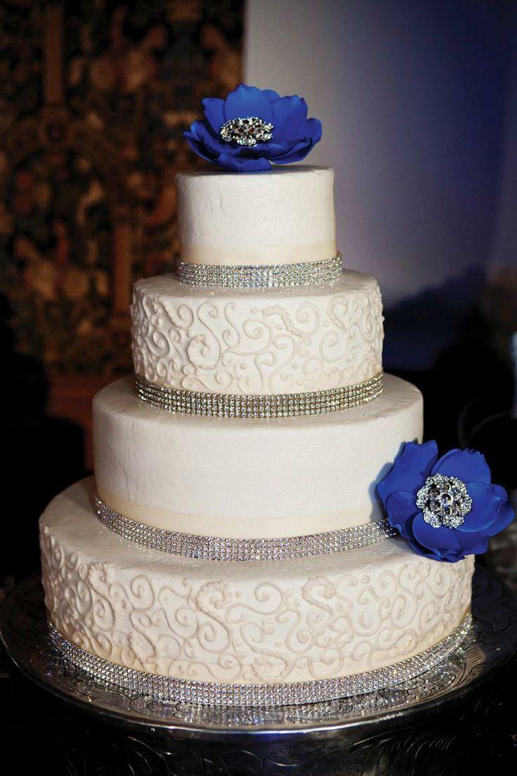 Rhinestone Wedding Cakes  84 best images about Rhinestone Ribbon Ideas on Pinterest