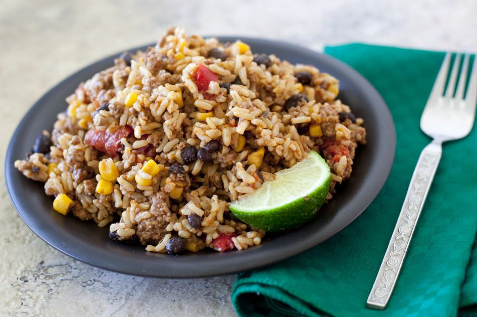 Rice And Beans Healthy  Low Fat Black Beans and Rice Lunch Recipe Health Club