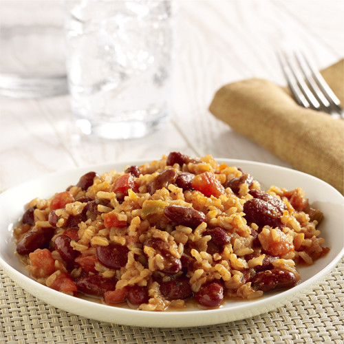 Rice And Beans Healthy  Ve arian Red Beans and Rice