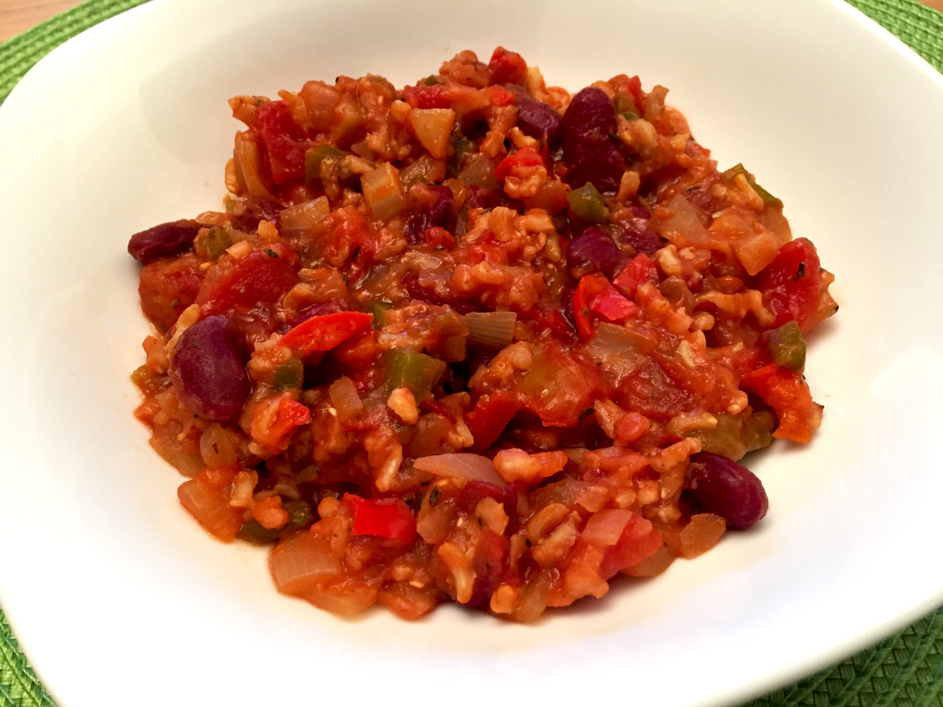 Rice And Beans Healthy  Healthy Red Beans and Rice Colorful & Delicious Creole