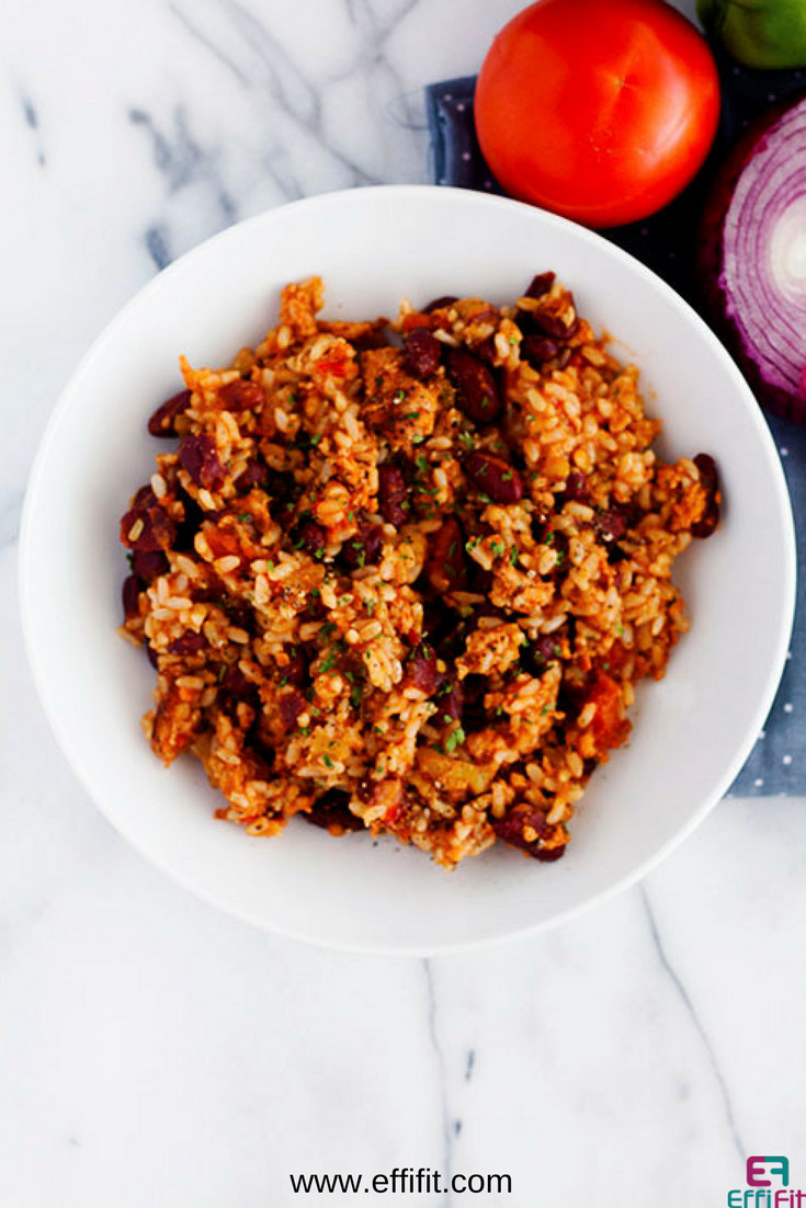 Rice And Beans Healthy  Quick Healthy and Delicious Red Beans and Rice
