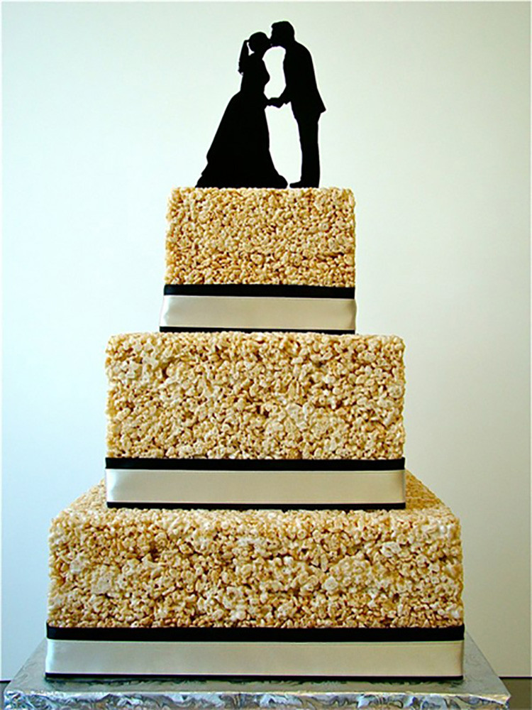 Rice Krispie Wedding Cakes  7 Nontraditional Wedding Cake Ideas For the Creative