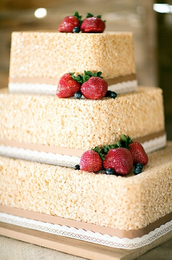 Rice Krispie Wedding Cakes  Fun Rice Krispie Treat Recipes Kids Kubby